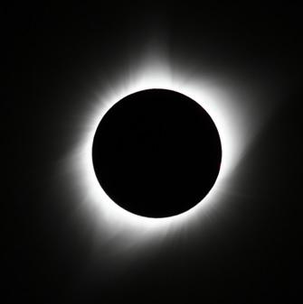 米国日食皆既最大